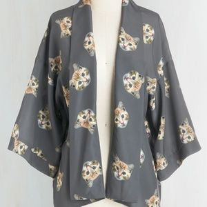 bea & dot by modcloth cat kimono